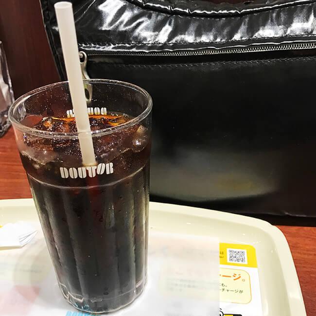 仙台駅のドトールコーヒーで待機