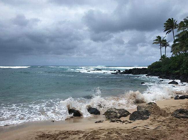 ウミガメのいないラニアケア・ビーチ