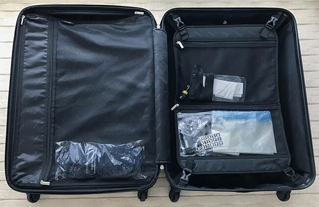 サクセス・スーツケースの中の造り