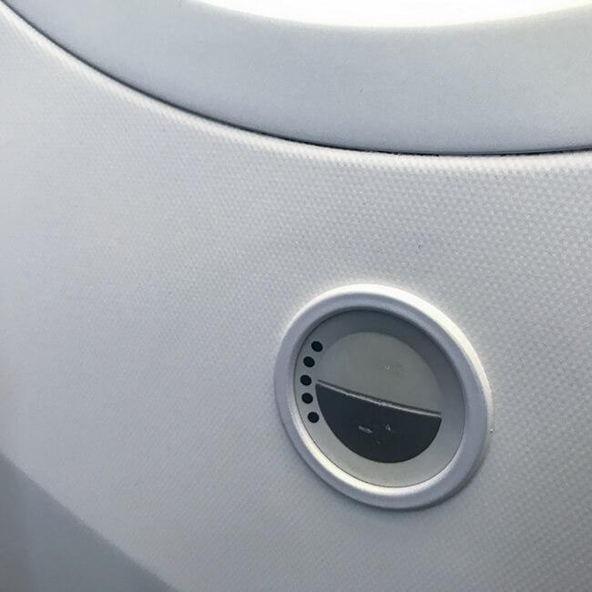 ana_b787の電子シェードボタン