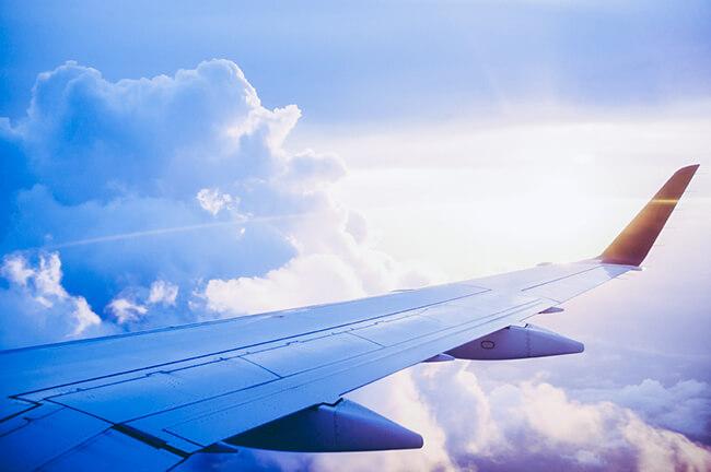 ana特典航空券での飛行