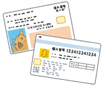 マイナンバーカードの画像データ