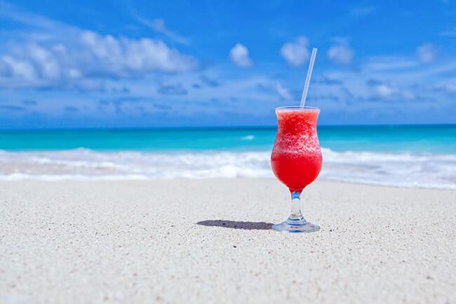 anaの旅作でリゾートビーチ