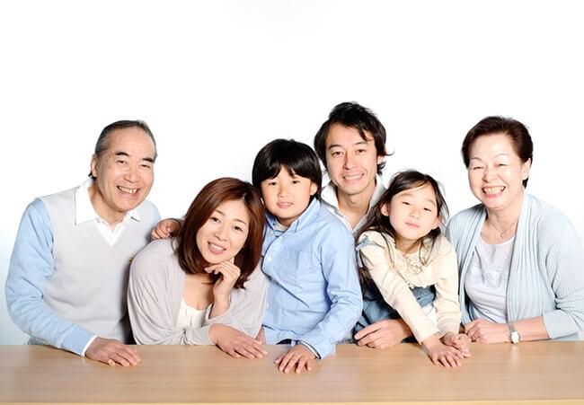 家族全員がsfc特典を享受できる