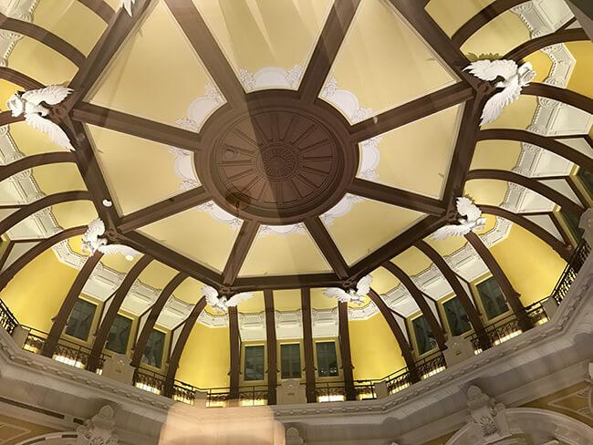 東京ステーションホテルの丸屋根