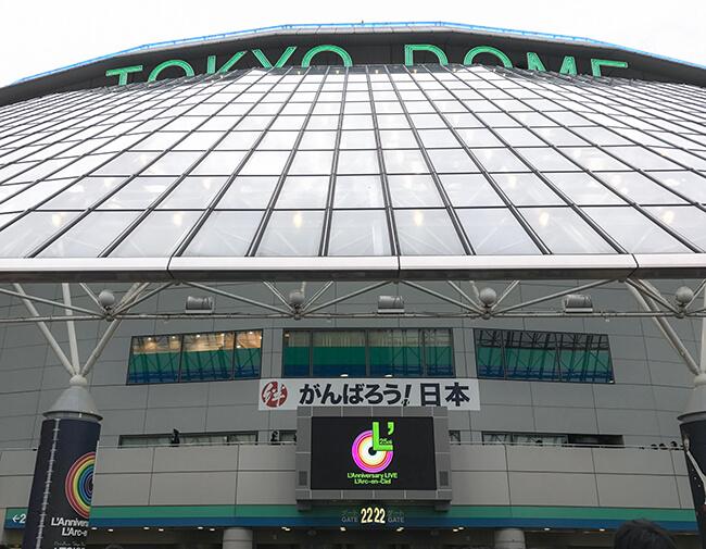東京ドーム・ラニバーサリーツアー