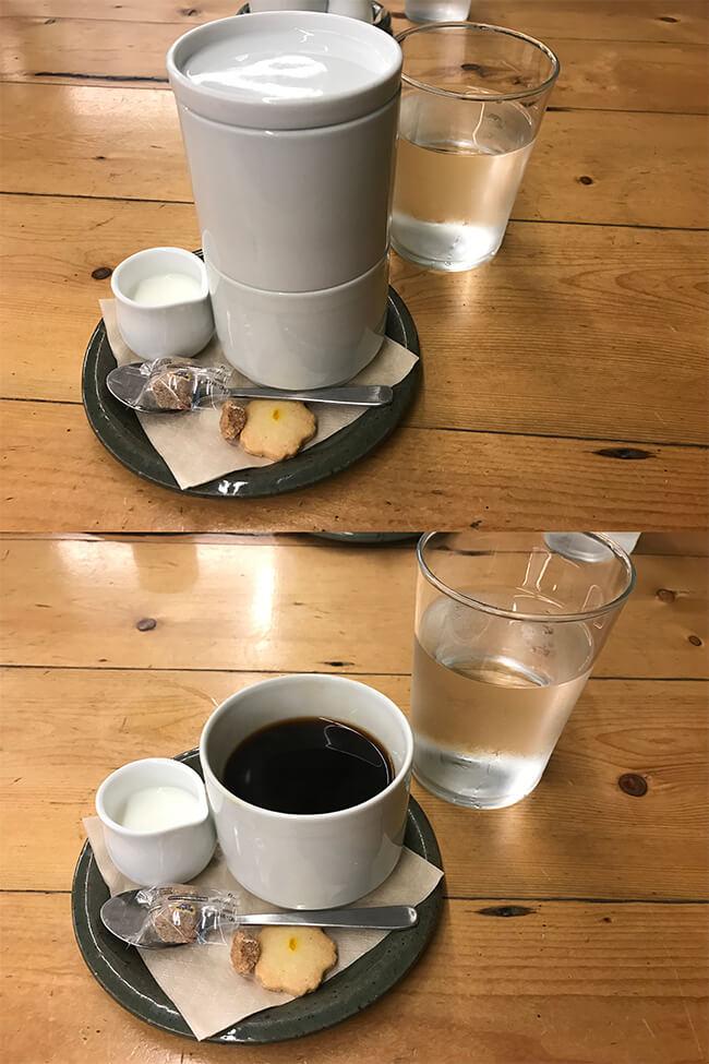 ローズベーカリーのドリップコーヒー
