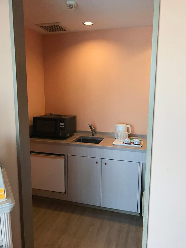 キッチン的なスペース