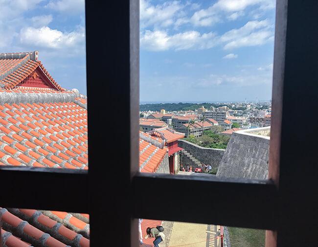 城内からの眺め