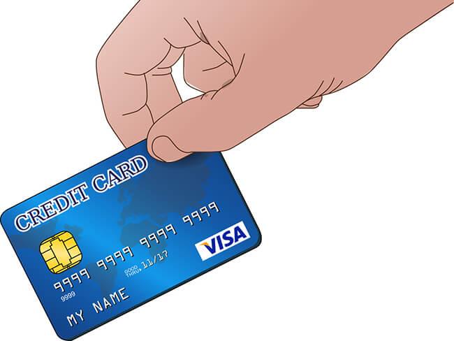 クレジットカード決済だけでは貯まらない