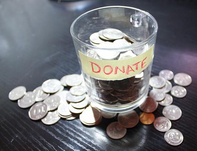 anaマイルの寄付