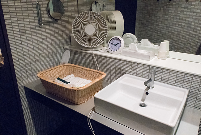 洗面台の全体像