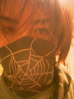 蜘蛛の巣スカーフ
