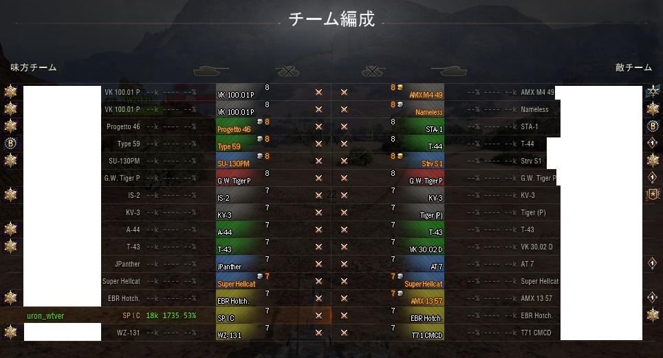 マッチング構成