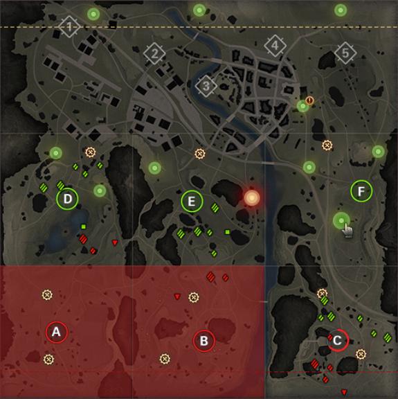 再出撃地点のイメージ