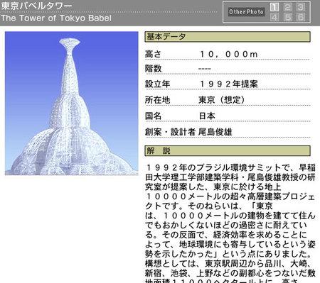 東京 バベル