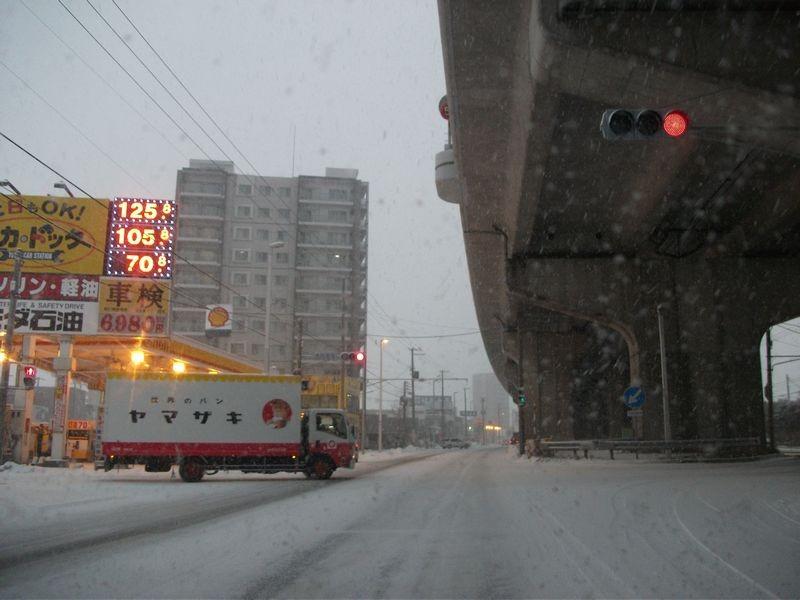 07:36 札幌市内