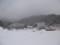 13:36 然別湖湖上から見たホテル群