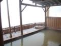 [鹿追][然別湖][温泉] 14:45 露天風呂