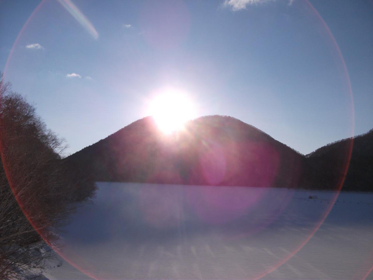 07:28 御来光オンザくちびる山