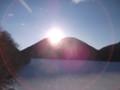 [鹿追][然別湖][温泉] 07:28 御来光オンザくちびる山