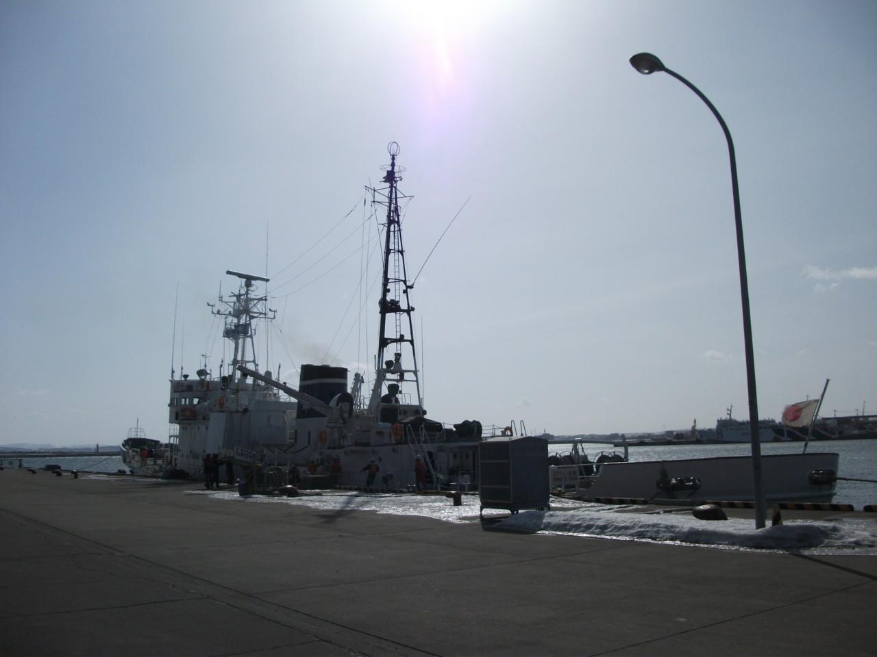 09:33 海上保安庁巡視船れぶん