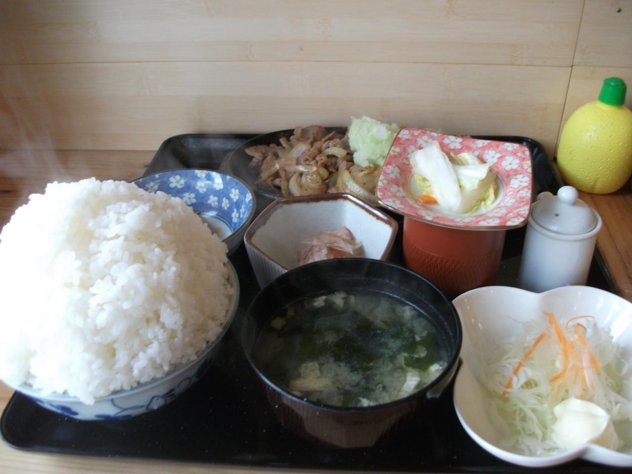 牛太郎 牛バラおろし定食