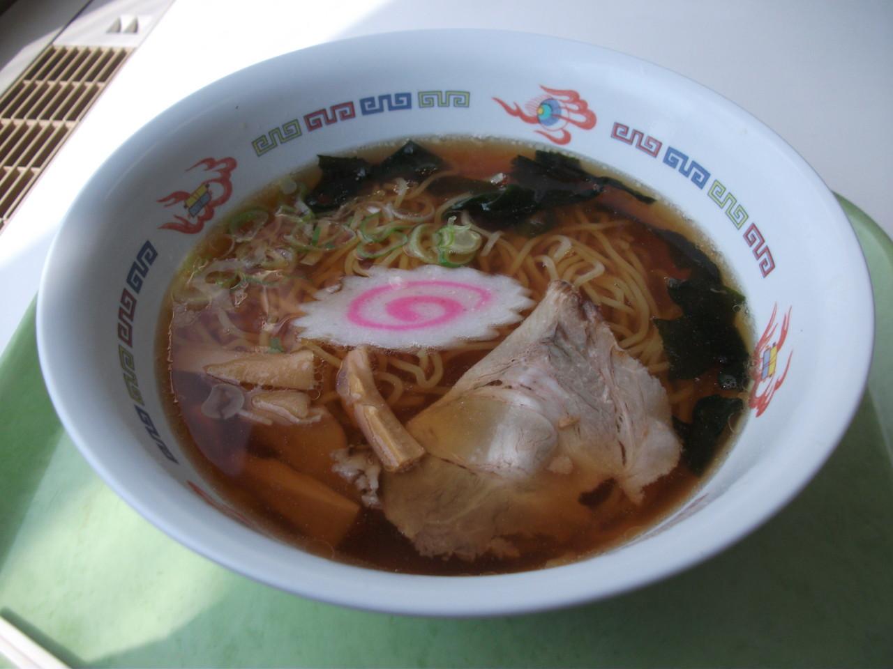 札幌東区役所食堂 しょうゆラーメン