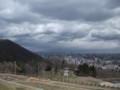 [札幌][藻岩山] 旭山記念公園からの見晴らし