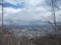 [札幌][藻岩山] T6分岐点付近の見晴らし