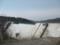 当別ダム建造中 西側