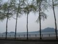[千歳] 風不死岳・樽前山遠望@支笏湖畔駐車場