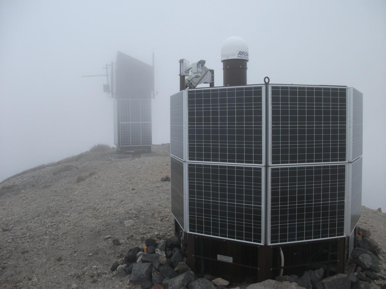GPS測位システム@西山山頂