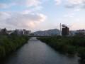 [札幌] 豊平川@一条大橋