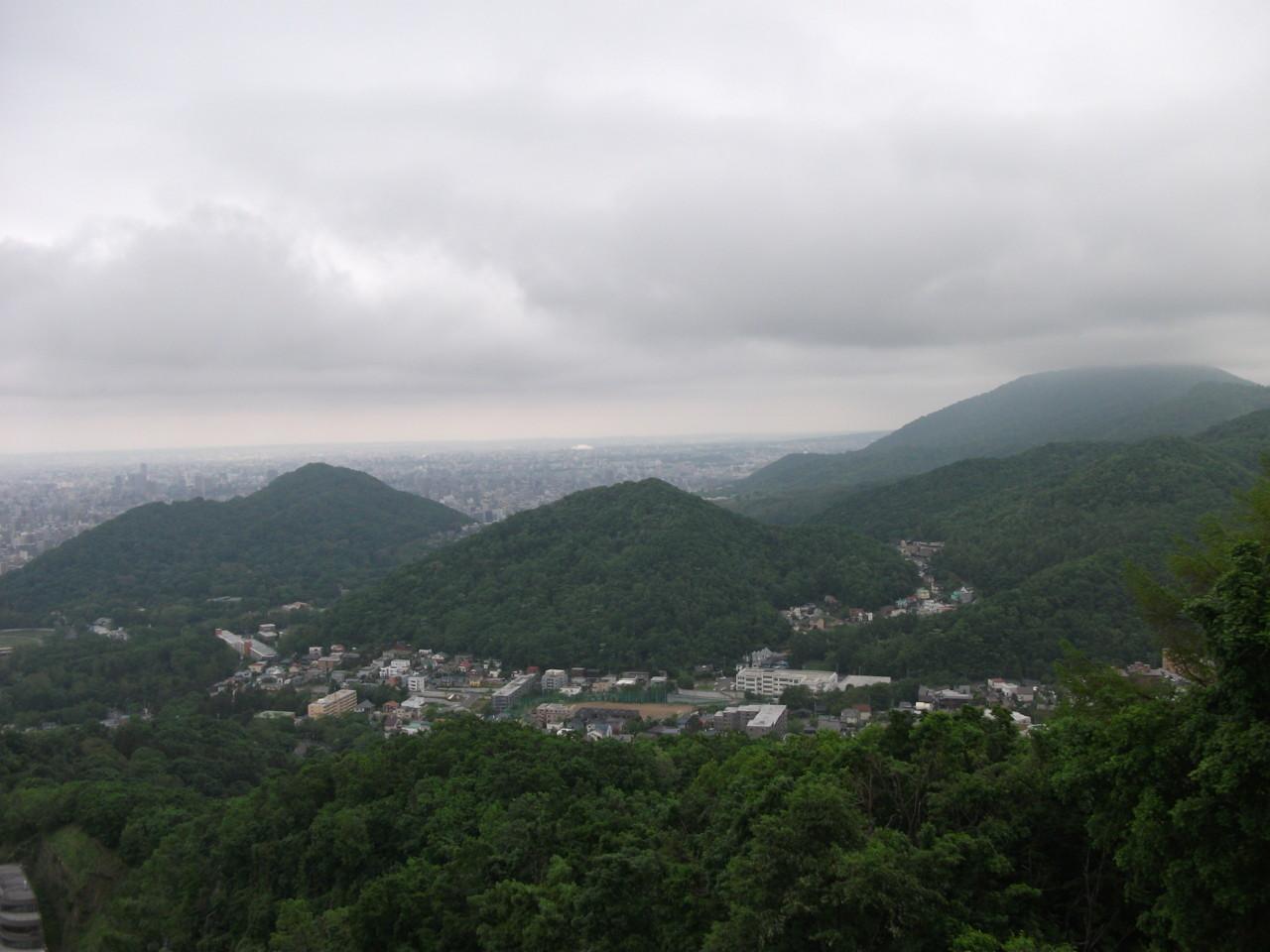 円山・神社山方面@大倉山展望台