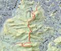 [札幌][三角山][大倉山][奥三角山] GPSトラック