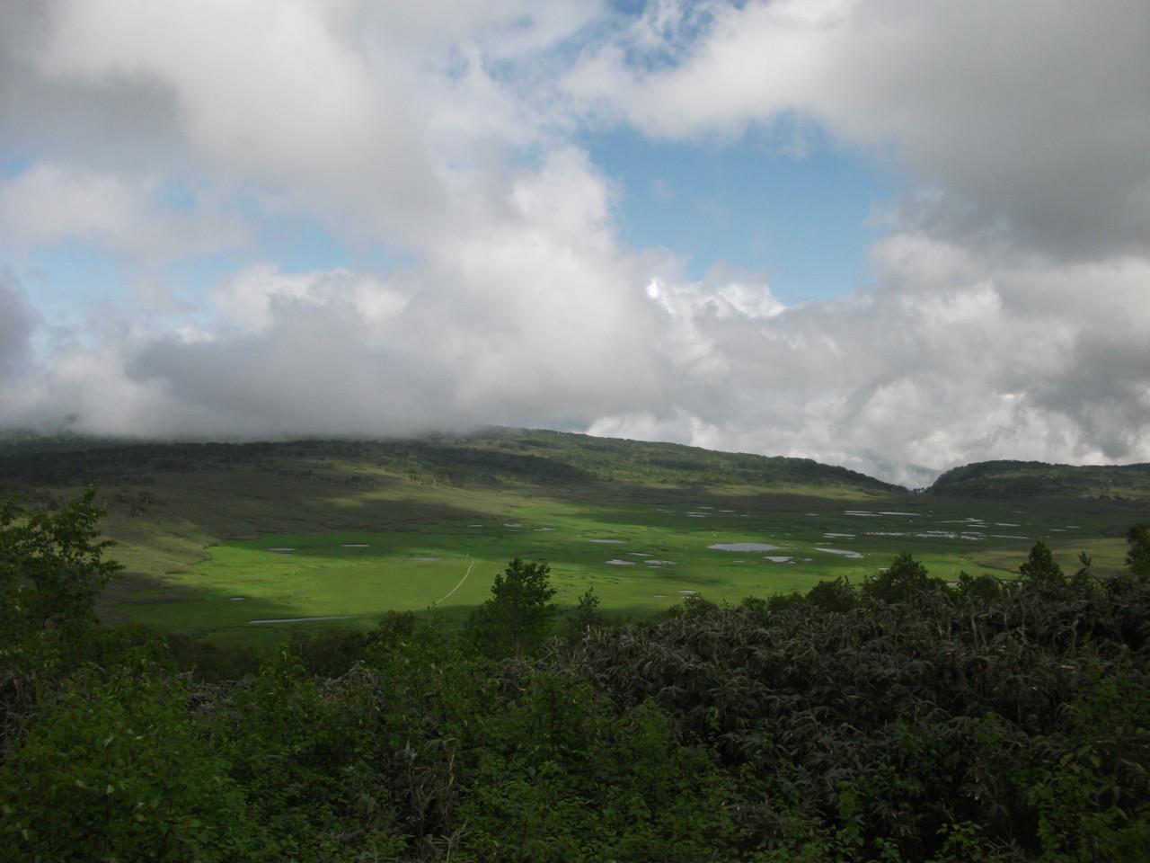 雨竜沼湿原展望台