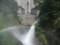 定山渓ダム 放水中