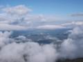 [美瑛][十勝岳] 美瑛市街に浮かぶ雲