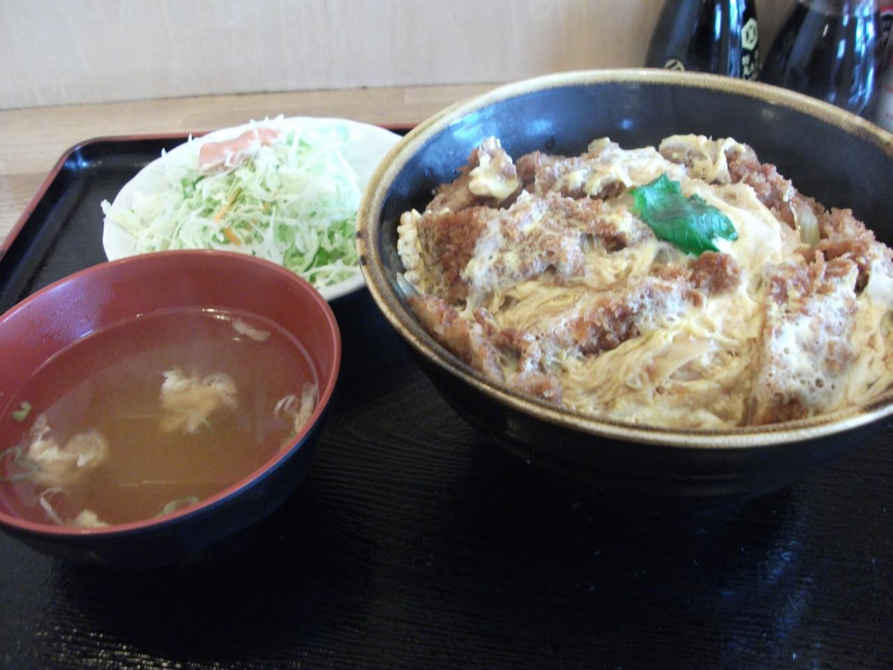 六宝亭 バラカツ丼