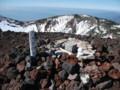 [倶知安][羊蹄山] 三角点の雪だるま