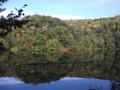 [倶知安] 半月湖に映る紅葉
