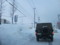 雪に埋もれる岩見沢の惨状with自衛隊車両