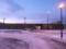 朝の斜里駅