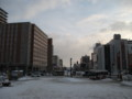 [小樽] 小樽駅前のようす