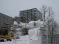 [札幌] 5丁目大雪像 ファンタジア(ディズニー)…になる予定