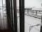 岩見沢駅 窓枠に使用されている古レール その1