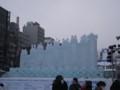 [札幌] 雪まつり2012 2丁目大氷像 動物たちの夢の城