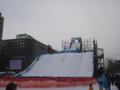 [札幌] 雪まつり2012 3丁目 スノーボードジャンプ台