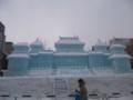 [札幌] 雪まつり2012 5丁目大氷像 故宮博物院